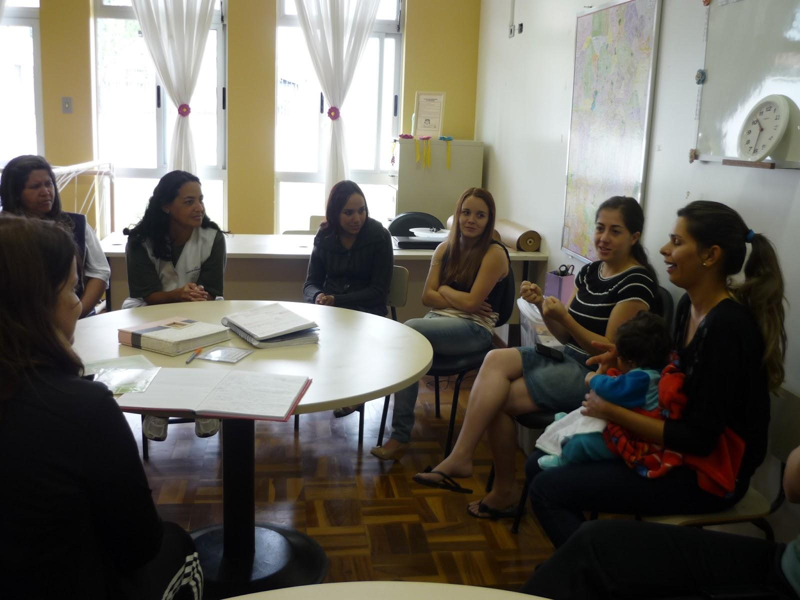 Reunião com as mães do CMEI