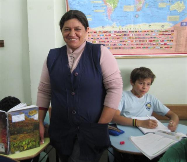 Professora multiplicadora do bem!!!!