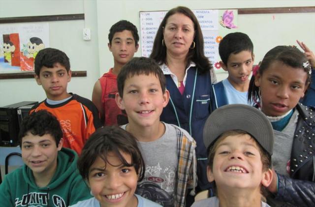 Professora Mariza chegou a nossa hora de agradecer.