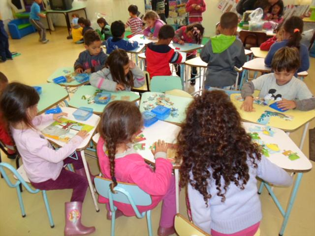 A Pré-escola do CMEI Barigui