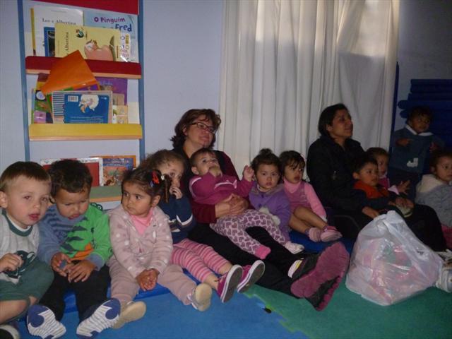 no terceiro dia de festa as crianças assistiram um