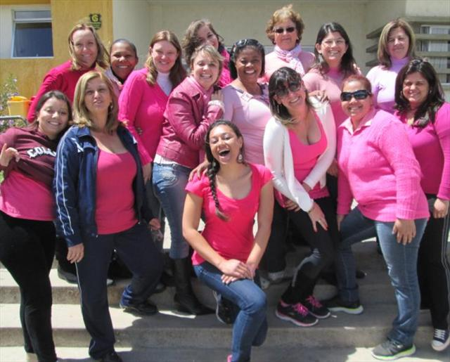 E o nosso dia é assim... Rosa e Feliz!!!!! Feliz dia dos Professores!!!!!!
