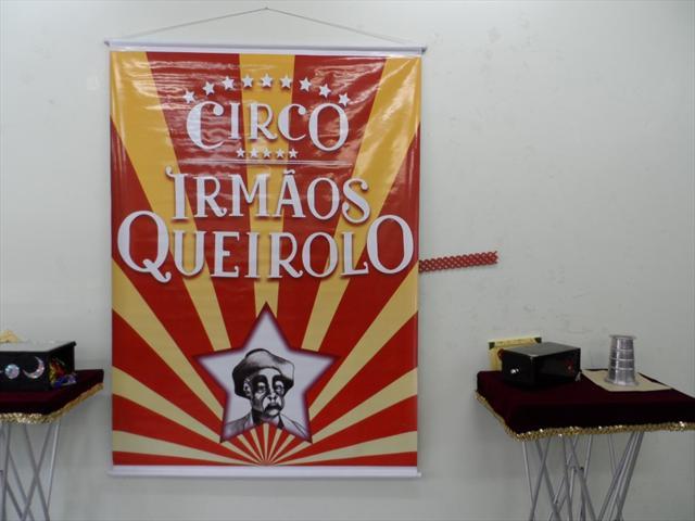 Visita do Circo Irmãos Queirolo