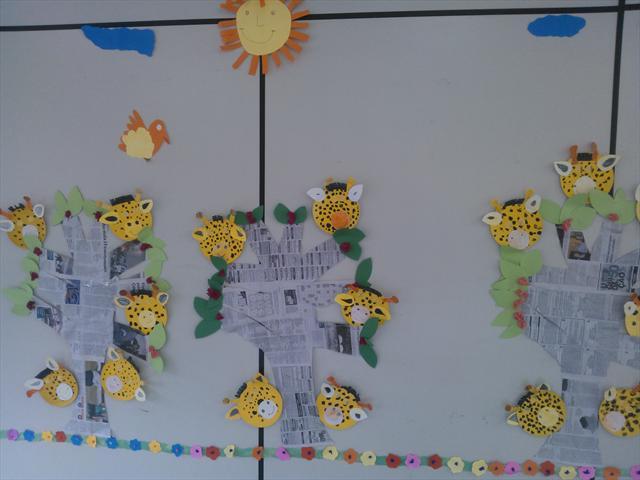 Painel: As girafas Contraturno I