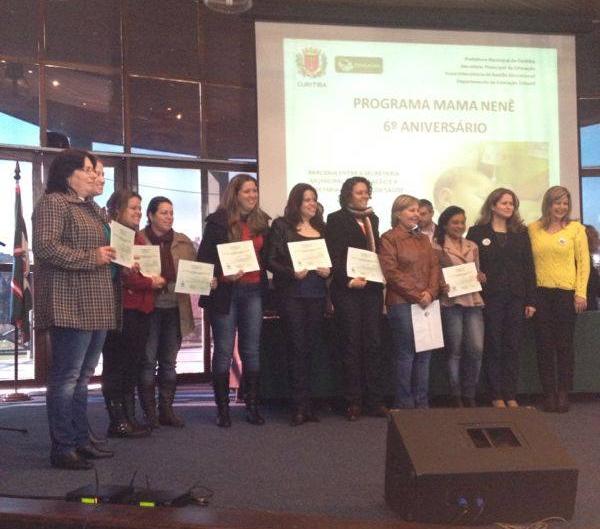 Certificado do Programa Mama Nenê