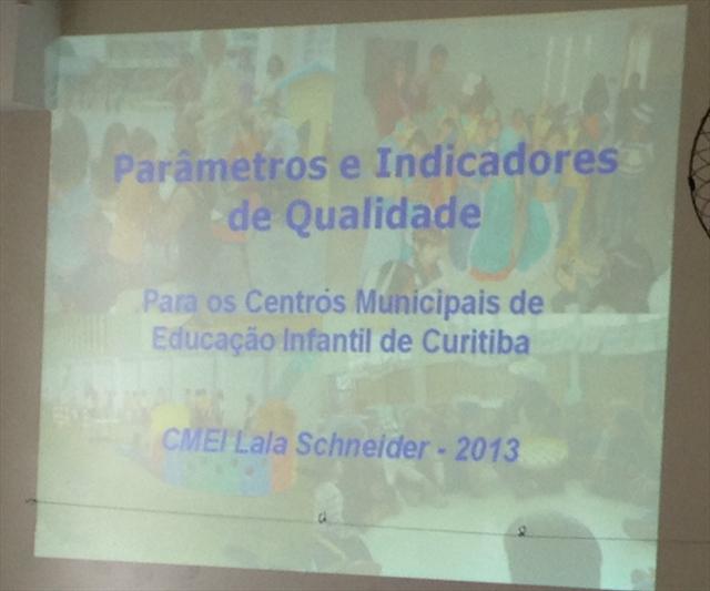 Parâmetros e Indicadores de Qualidade para os Centros Municipais de Educação Infantil