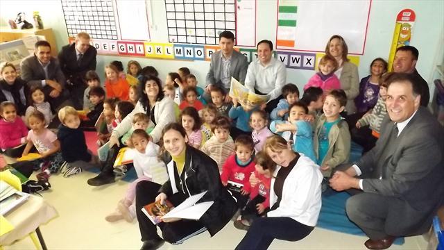 Programa Itaú Criança no CMEI Jardim Paraná