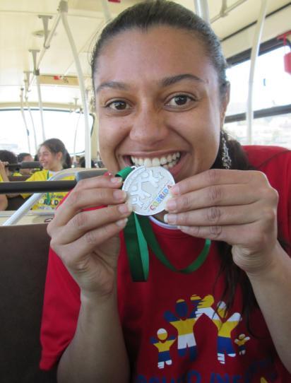E a  medalha vai para... Priscila!!!!!!