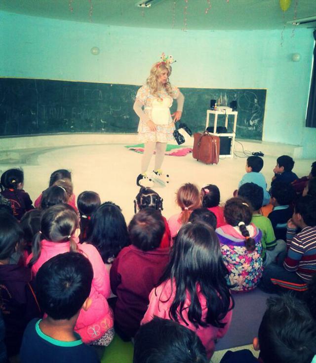 Contação de história dia das crianças