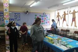 Mostra de Arte realizada na Escola Municipal Padre