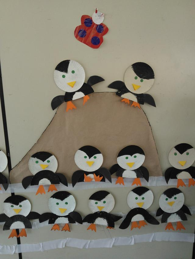 Os pinguins