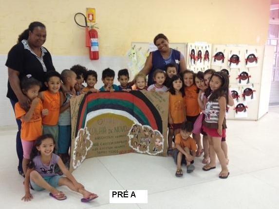 Trabalhos realizados com as crianças para conscien