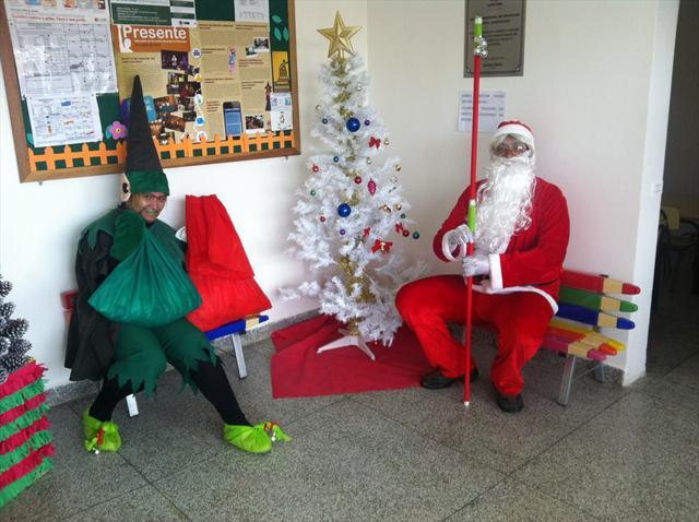Visita Papai Noel 1