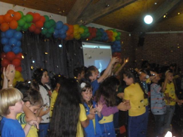 Almoço e cerimônia encerram o ano letivo dos 5ºs anos da Escola Nympha 2013