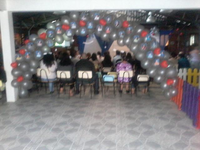 festa de encerramento do pré