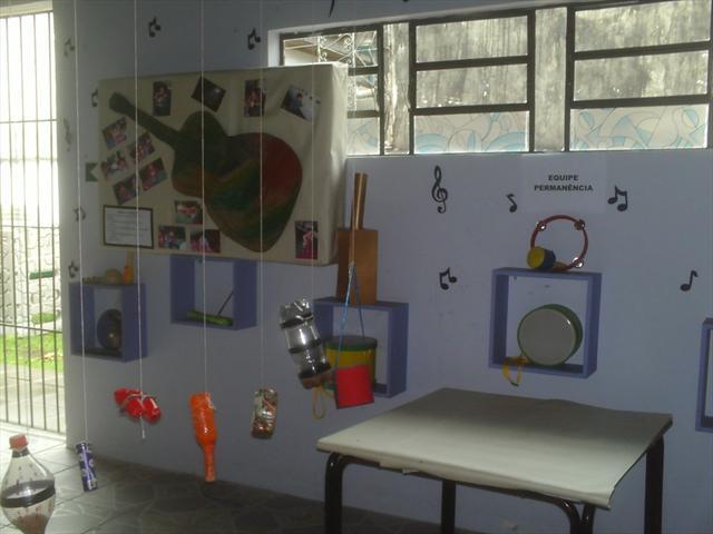 exposição dos trabalhos realizados pelas crianças!