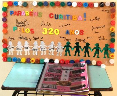 Livro confeccionado pelos estudantes do 4.º ano A