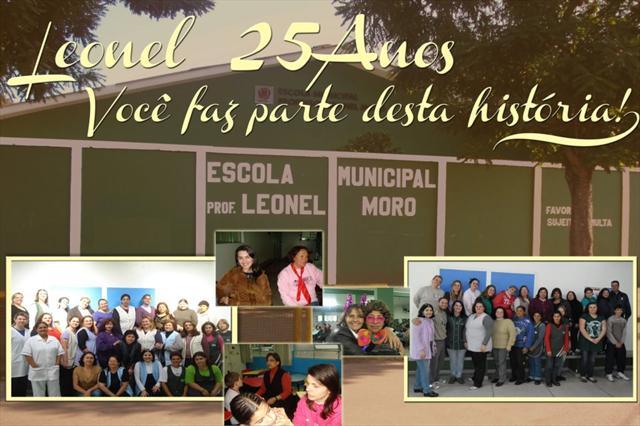 Leonel Moro 25 anos de serviço educacional