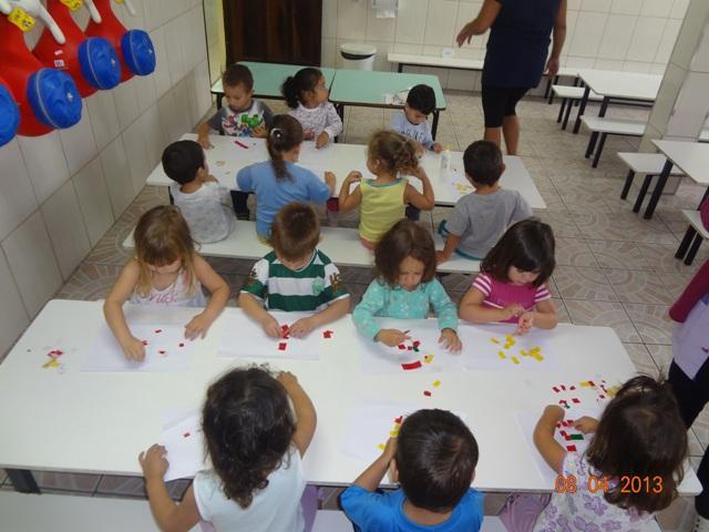 Atividades das crianças