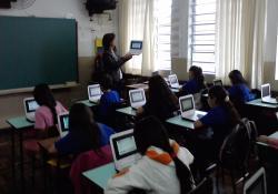 Uso de netbook em sala de aula