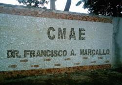 Fachada do CMAE Francisco Antº Marçallo.