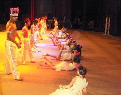 Apresentação do Projeto Bandinha no Teatro Guaira
