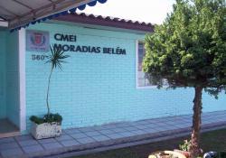 Entrada do CMEI Moradias Belém.