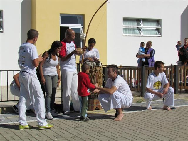 Capoeira no Cmei