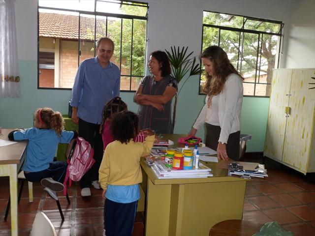 Visita do prefeito Gustavo Fruet