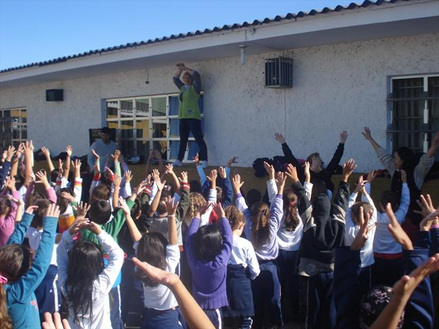Nossa escola marcou presença no Dia do Desafio, 29