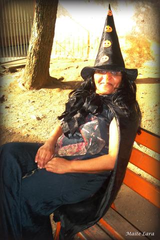 Bruxa,bruxa venha a minha festa !