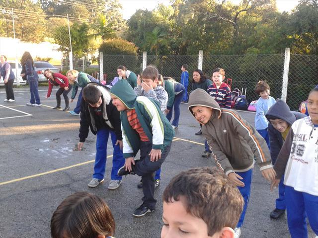 Escola e Uei participam do dia do desafio.