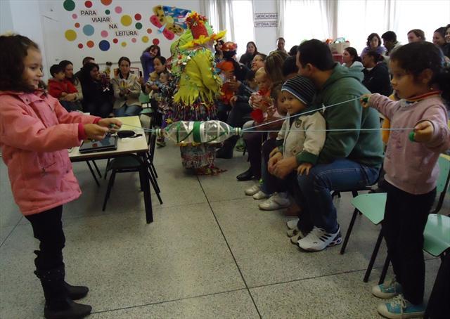 Sábado de integração com as famílias