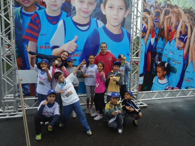 Participação na Maratoninha da Caixa 2013