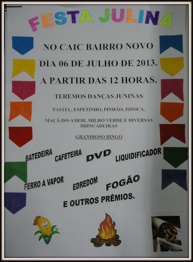Cartaz Festa Junina