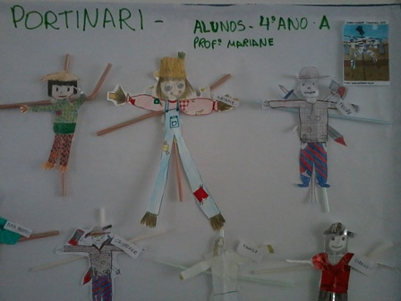 Inspiração na Obra: Espantalhos de Cândido Porti