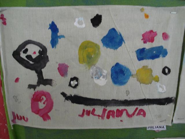 Mostra de trabalhos da Educação Infantil