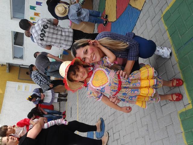 Festa Junina com as Familias!!!!!!