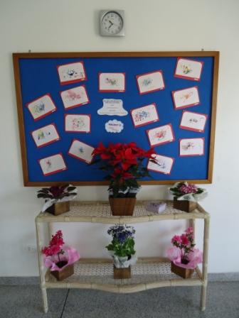 Flores no CMEI