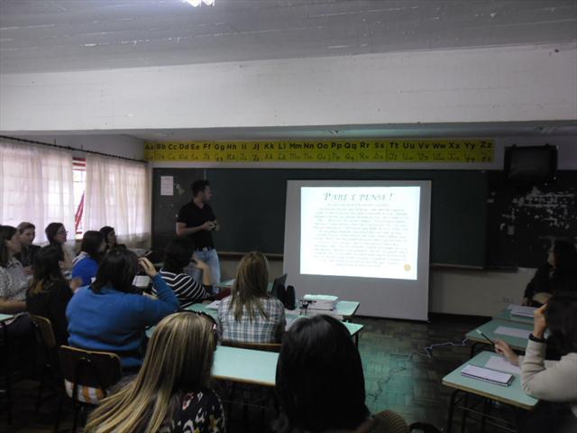 Palestra Pedagogo Jorge Bueno