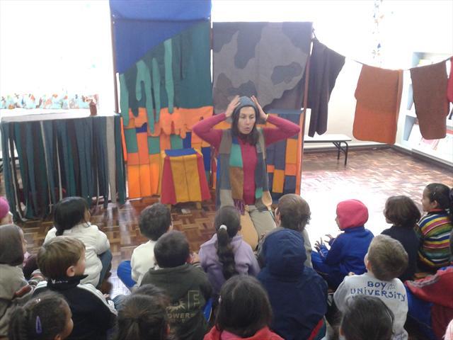 Grupo Malasartes realiza apresentação de teatro pa