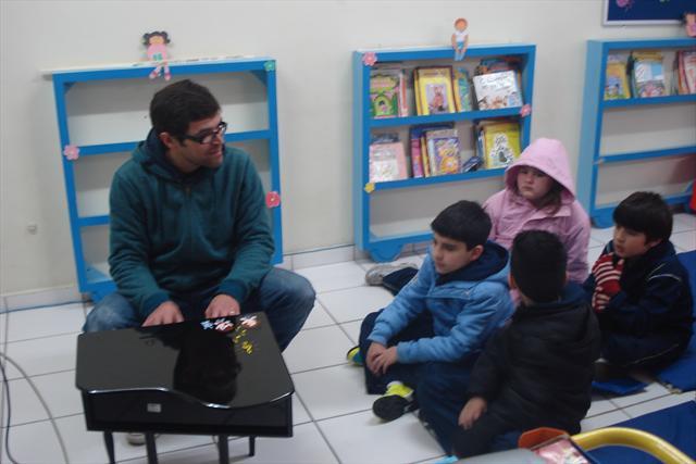 Uma aula diferente sobre música.....