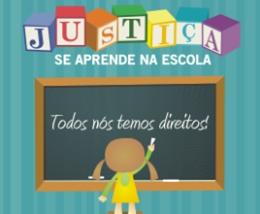 "Projeto ""Justiça se aprende na escola"""