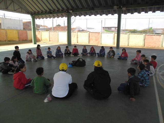 Os alunos do 4º C foram contemplados com o Projeto