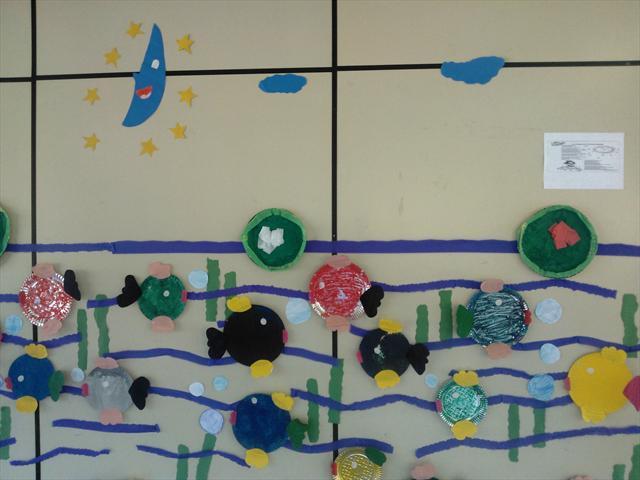 Mural : Animais aquáticos