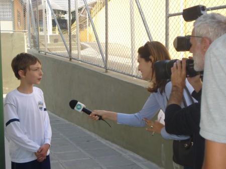 Reportagem da RPC TV sobre Educação Física