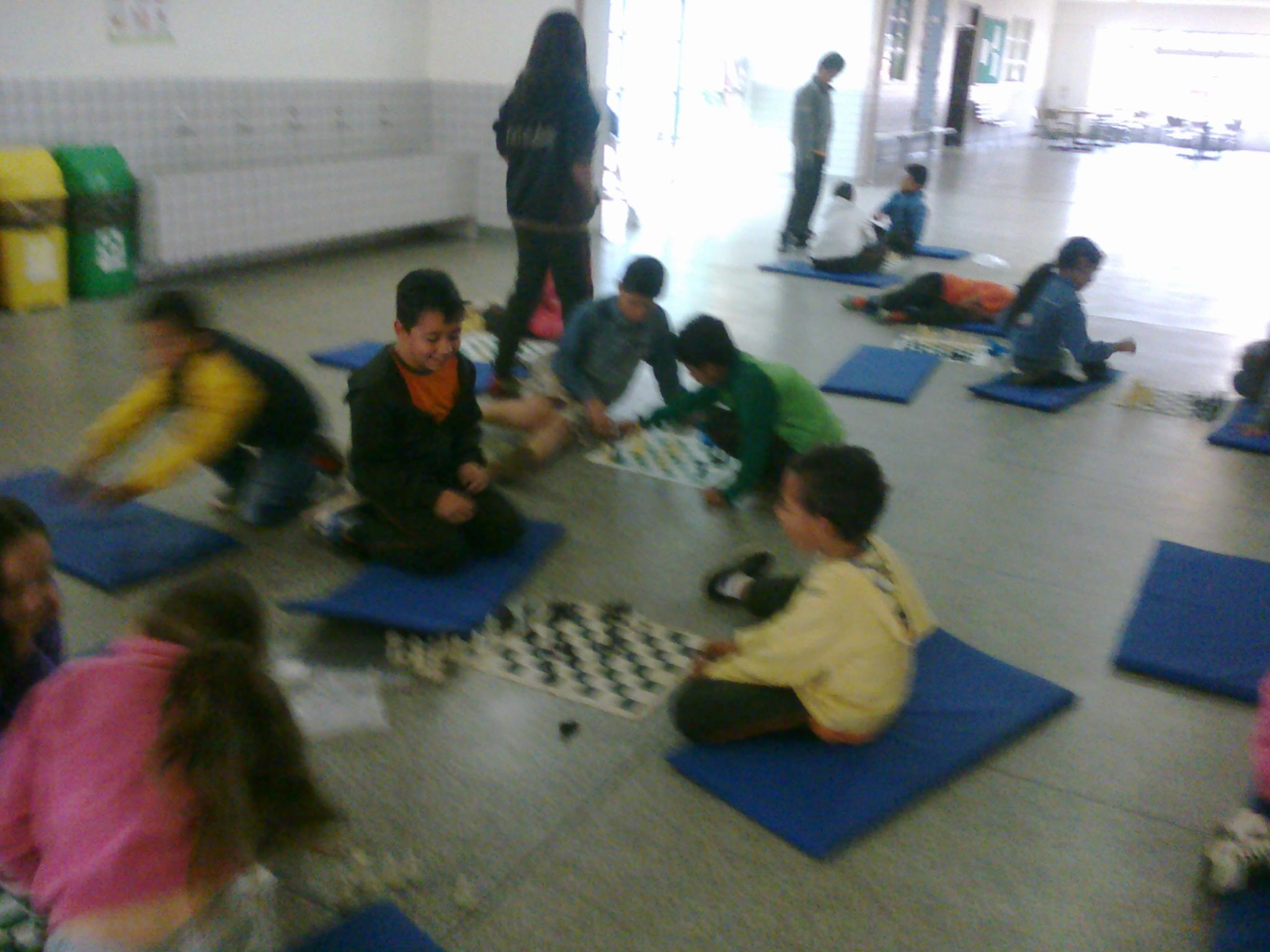 Crianças participantes do projeto.