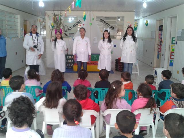 Palestra sobre higiene US Pilarzinho 2013