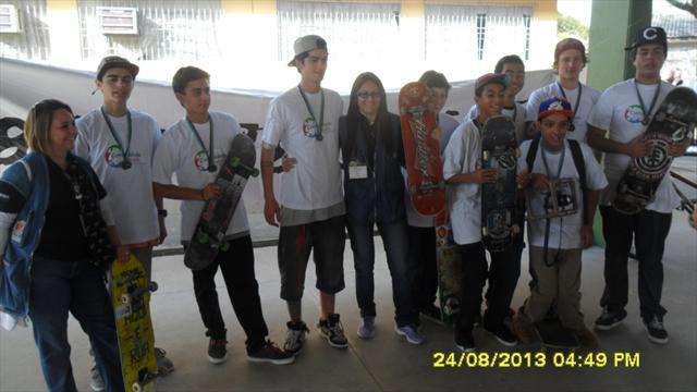 Grupo reunido no dia do evento