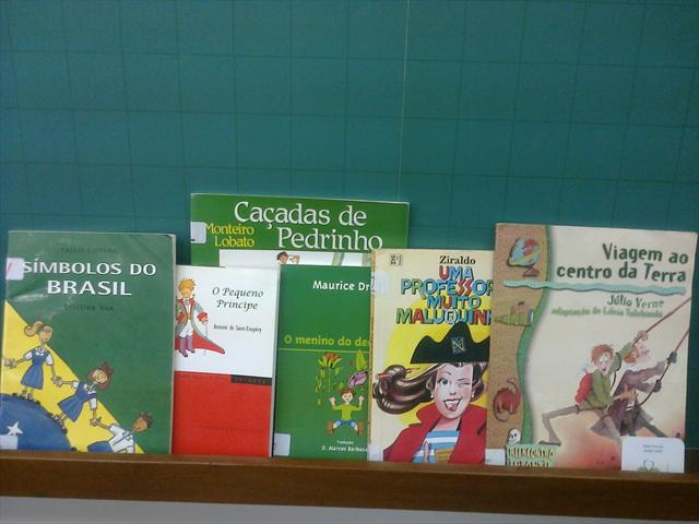 Trabalho na Biblioteca Machado de Assis
